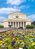 Teatro di Bolshoi Immagine Stock Libera da Diritti