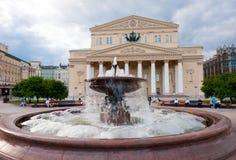 Teatro di Bolshoi Fotografie Stock