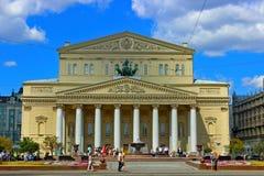 Teatro di Bolshoi a Mosca Fotografia Stock
