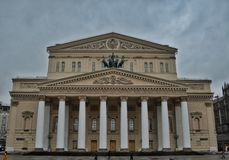 Teatro di Bolshoi, Mosca Fotografia Stock