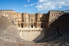 Teatro di Bosra Immagini Stock Libere da Diritti