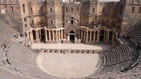 Teatro di Bosra, Siria Fotografia Stock Libera da Diritti