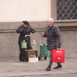 Teatro di burattini veneziano Fotografia Stock Libera da Diritti