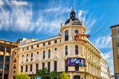 Teatro di Calderon a Madrid, Spagna fotografie stock libere da diritti