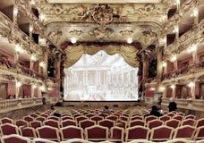 Teatro di Cuvillies, Monaco di Baviera immagini stock libere da diritti