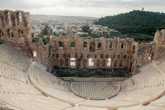 Teatro di Dionysus Fotografie Stock Libere da Diritti