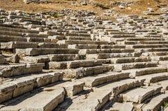 Teatro di Dionysus Eleuthereus fotografia stock