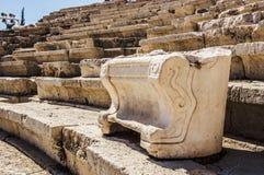 Teatro di Dionysus Eleuthereus immagini stock libere da diritti