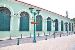 Teatro di Dom Pedro V Fotografia Stock Libera da Diritti