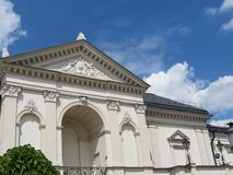Teatro di dramma di Klaipeda fotografia stock