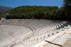 Teatro di Epidauros Fotografia Stock