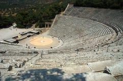 Teatro di Epidauros Immagine Stock