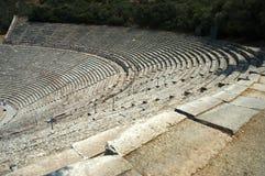 Teatro di Epidauros Fotografie Stock