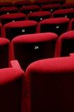 Teatro di film vuoto immagini stock