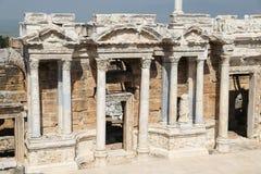 Teatro di Hierapolis in Turchia Fotografia Stock