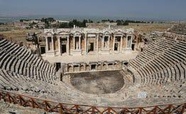Teatro di Hierapolis in Turchia Fotografie Stock Libere da Diritti