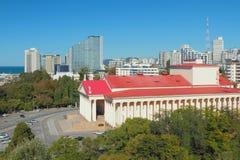 Teatro di inverno in città Soci, Russia Immagine Stock Libera da Diritti