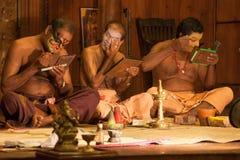 Teatro di Kathakali Fotografie Stock Libere da Diritti
