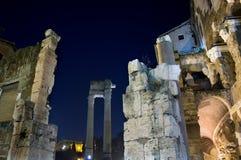 Teatro di marcello на ноче 2 стоковые изображения