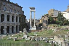 Teatro di Marcello, Roma fotografia stock