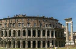 Teatro di Marcellus, Roma Fotografia Stock Libera da Diritti