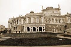 Teatro di opera a Odessa Fotografia Stock Libera da Diritti