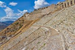 Teatro di Pergamon Fotografia Stock Libera da Diritti