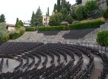Teatro di Romano in Verona in Italy Stock Image