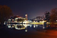 Teatro di RSC ed il fiume di Avon Fotografia Stock Libera da Diritti