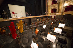 Teatro di San Carlo, Naples opera house Stock Photography