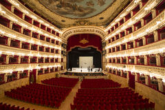Teatro di San Carlo, Naples opera house Royalty Free Stock Photo