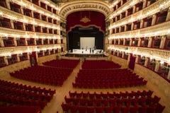 Teatro di San Carlo, Naples opera house royalty free stock photo