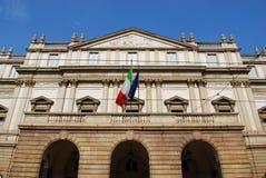Teatro di Scala, Milano Immagini Stock