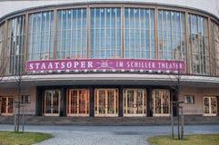 Teatro di Schiller a Berlino (Germania) Fotografia Stock
