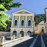 Teatro di Talia nel centro di Tagliacozzo & di x28; Italy& x29; Fotografia Stock Libera da Diritti