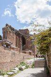 Teatro di Taormina, Sicile, Italie Photographie stock libre de droits