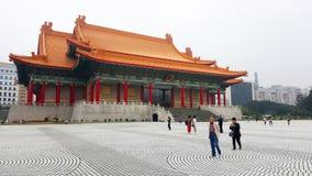 Teatro di varietà nazionale di Taipei Fotografia Stock