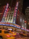 Teatro di varietà radiofonico della città Fotografie Stock