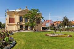 Teatro di Ystad immagine stock