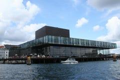 Teatro dinamarquês real Imagens de Stock