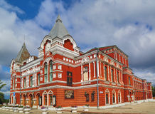 Teatro do drama no Samara Fotografia de Stock Royalty Free