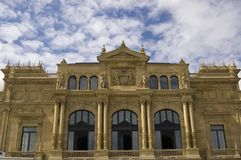 Teatro do eugenia de San Sebastian - de victoria Imagem de Stock Royalty Free