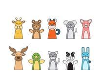 Teatro do fantoche das crianças Imagens de Stock Royalty Free