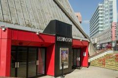 Teatro do hexágono, lendo Imagens de Stock Royalty Free