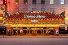 Teatro do palácio de Cadillac foto de stock royalty free