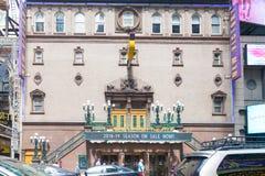 Teatro do ` s de New York para crianças e famílias foto de stock royalty free