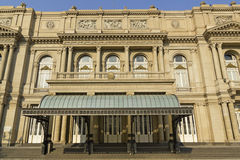 Teatro dos dois pontos, Buenos Aires, Argentina. Foto de Stock Royalty Free