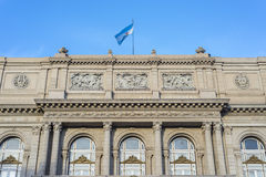 Teatro dos dois pontos em Buenos Aires, Argentina. Foto de Stock Royalty Free