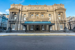 Teatro dos dois pontos em Buenos Aires, Argentina Fotos de Stock