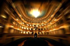 Teatro e zoom Foto de Stock Royalty Free